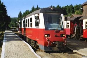 HSB 187 019-5 som Tog 8902. Drei Annen Hohne 13.09.2002.