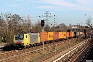 DISPO E 189 915. Hamburg Unterelbe - Hausbruch 20.03.2014.