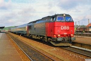 DSB MZ 1461 med P 397 Kh-Rf. Nykøbing F. 02.10.1990.