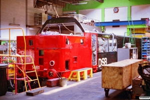 DSB MZ 1461 til hovedrenovering. Århus 24.04.1993.