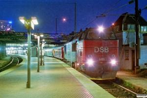 DSB MZ 1451 med P 309 Kh-Ge. København H 02.05.1993.