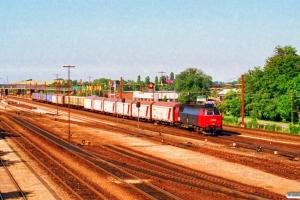DSB MZ 1432 med G 7285 Rg-Fa. Korsør 29.06.1993.