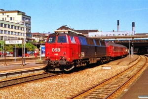 DSB MZ 1418 med IP 276 Flb-Fh. Århus H 30.06.1993.