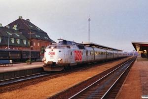 DSB MA 466+MA 463 med L 124 Str-Kh. Odense 26.12.1989.