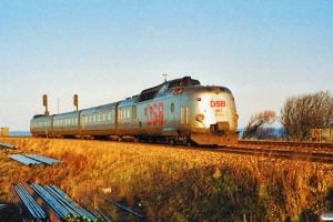 DSB BS 481+MA 467 som L 123 Kh-Str. Struer 13.01.1990.