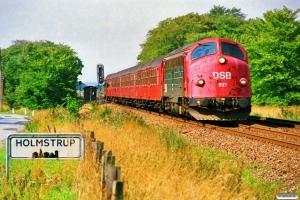 DSB MY 1137+3 Bn+Bns som P 1534 Te-Kh. Holmstrup 18.08.1989.