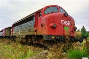 DSB MY 1140 ved Henriksen. Århus 08.10.1989.