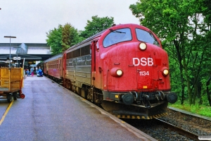 DSB MY 1134 med IC 431 Flb-Fh. Fredericia 08.07.1990.