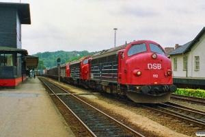 DSB MY 1112+MY 1114+MY 1104 med G 7925 Gb-Ab. Vejle 11.08.1990.