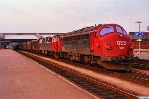 DSB MY 1145+MZ 1401 med G 7368 Gb-Pa. Fredericia 25.04.1993.