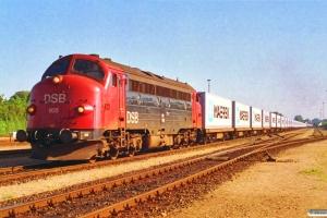 DSB MY 1105 med G 42755 Te-Pa. Tinglev 01.07.1993.