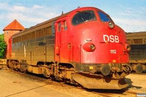 DSB MY 1112. Esbjerg 16.07.1993.