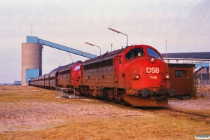 DSB MY 1146+MY 1151+18 Fals. Esbjerg 17.02.1994.