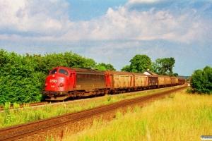 DSB MY 1149 med G 8755 Od-Ab. Skalbjerg 08.07.1994.