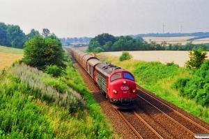 DSB MY 1147 med G 7371 Oj-Kd. Km 25,7 Fa (Kolding-Lunderskov) 28.07.1994.
