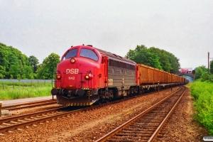 DSB MY 1142 med G 9523 Hk-Kb. Svebølle 06.07.1995.