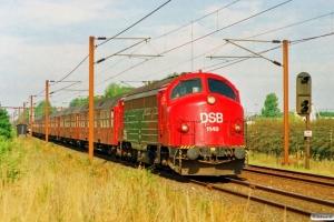 DSB MY 1149+9 Bn som IR 6428 Ar-Kh. Km 24,2 Ng (Marslev-Odense) 20.08.1995.