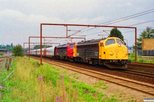 DSB 90 86 00-21 108-4+90 86 00-21 111-8+ER 01+ER 18 som M 6006 Fa-Hgl. Odense 08.09.1995.