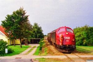 DSB MY 1155 på Skrydstrup sporet. Vojens 03.09.1996.
