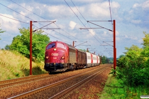 DSB MY 1145+Gs+Gs+ER 30+Gs+Gs som G 8935 Hgl-Rd. Km 33,8 Ng (Odense-Holmstrup) 18.09.1996.