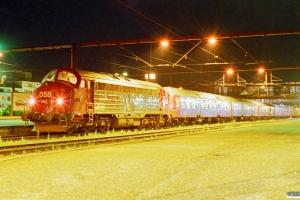 DSB MY 1152+7 Bn-o+ADns-e som IR 8375 Kh-Ar. Fredericia 20.08.1999.