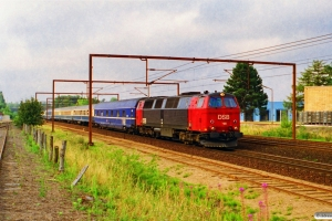 DSB MZ 1418 med IP 80482 Pa-Kh. Odense 02.09.1995.