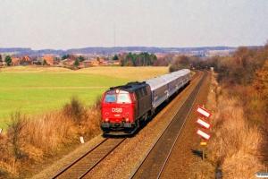 DSB MZ 1425 med IP 2183 Fh-Fa. Km 5,7 Fa (Fredericia-Børkop) 13.04.1996.