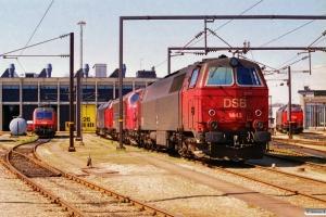 DSB EA 3005, MZ 1443, MY 1135, MZ 1451 og MZ 1447. København 26.04.1997.