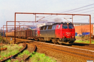 DSB MZ 1410 med GS 7997 Od-Ab. Odense 01.05.1997.