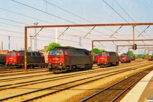 DSB MZ 1422, MZ 1427, MZ 1415, EA 3004 og MZ 1421. Odense 08.06.1997.