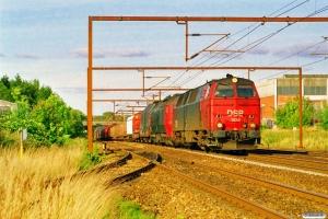 DSB MZ 1424+ME 1510 med G 7467 Gb-År. Odense 20.09.1997.