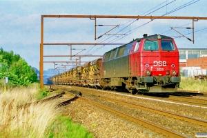 DSB MZ 1406+25 tomme Fccs som G 8649 Od-Vj. Odense 22.09.1997.