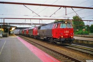 DSB MZ 1437+MY 1127+MY 1125+MY 1153+MY 1126 solo som M 8443 Fa-År. Fredericia 09.10.1997.