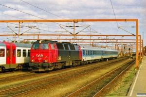 DSB MZ 1407 med IP 2181 Fa-Pa. Padborg 19.03.1998.