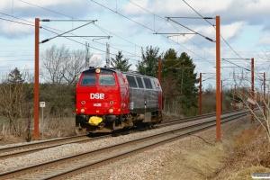 DSB MZ 1425 som M 6113 Gb-Ar. Holmstrup 23.03.2010.