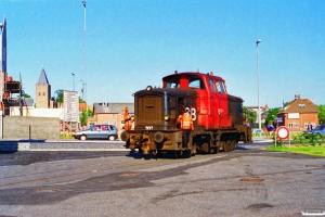 DSB MH 302. Hobro 26.06.1995.