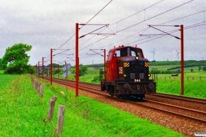DSB MH 344. Km 25,2 Fa (Kolding-Lunderskov) 23.06.1996.
