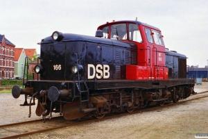 DSB MT 166. Nyborg Færge 07.10.1996.