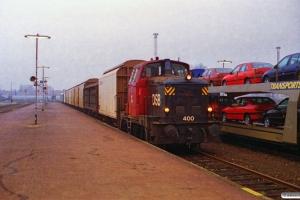 DSB MH 400 med G 6170 Od-Ng. Nyborg 08.12.1996.