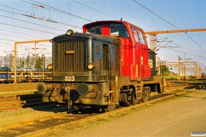 DSB MH 323. Padborg 19.03.1998.