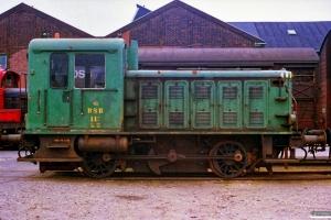 DSB Traktor 117. Århus 22.06.1988.