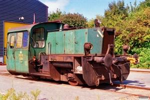DSB Køf 259. Fredericia 07.09.1991.