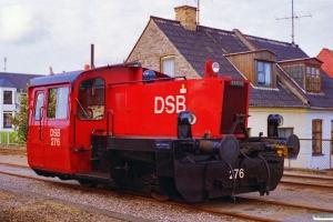 DSB Køf 276. Nykøbing F. 05.07.1995.