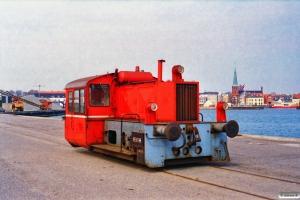 DSB Køf (ex. LJ M 13). Nyborg 16.04.1996.