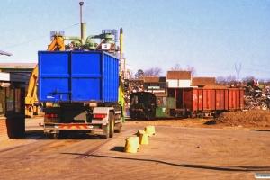 DSB Køf 275. Odense 15.04.1997.