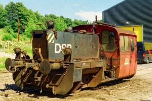 DSB Køf 285. Fredericia 11.07.2002.