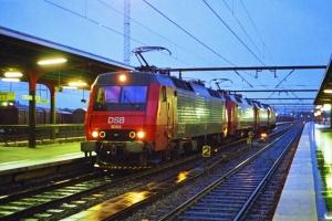 DSB EA 3003+EA 3021+EA 3009+EA 3015 solo som M 6374 Pa-Gb. Odense 26.05.1997.