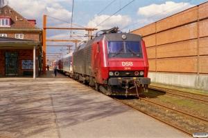 DSB EA 3014 med IP 2185 Fa-Pa. Padborg 11.04.2001.