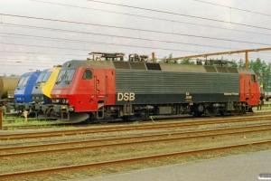 DSB EA 3006, EG 3111 og RAG 145-CL 206. Padborg 01.08.2002.