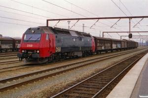 DSB ME 1526 med G 9160 Od-Gb. Odense 01.04.2001.